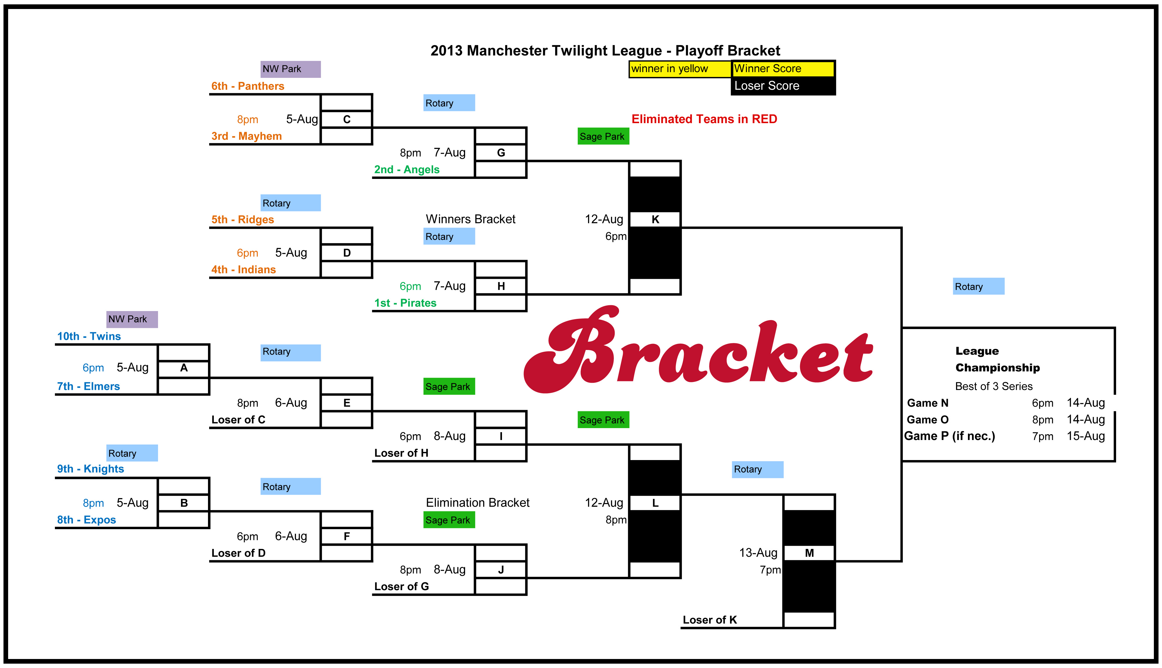 OR click the logos to view a schedule / standings .pdf online